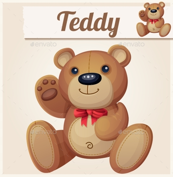 GraphicRiver Teddy Bear 10685557