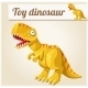 Toy Dinosaur.  - GraphicRiver Item for Sale