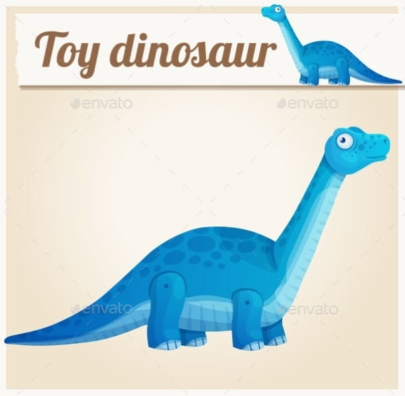 GraphicRiver Toy Dinosaur 10685560