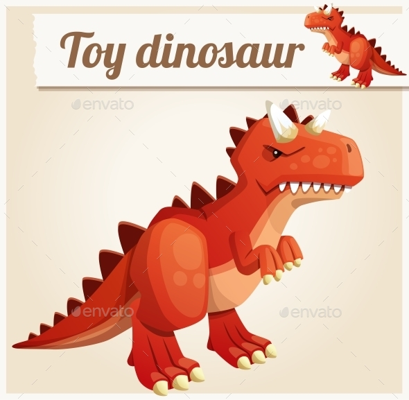 GraphicRiver Toy Dinosaur 10685563