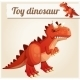 Toy Dinosaur - GraphicRiver Item for Sale