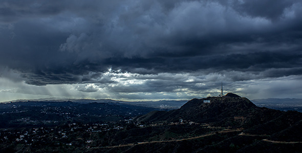 Los Angeles Overcast Weather
