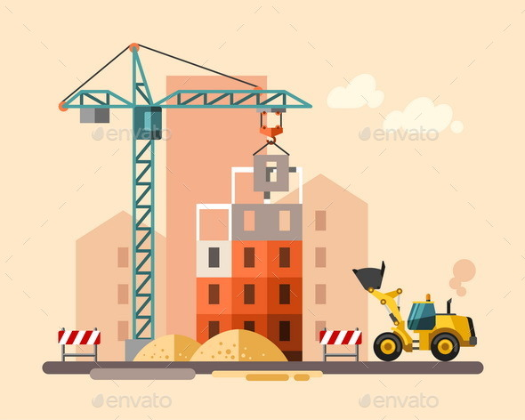 GraphicRiver Construction Site 10685791