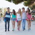 group of diverse teens on holiday - PhotoDune Item for Sale