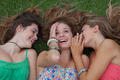 teen girls whispering and gossiping secrets - PhotoDune Item for Sale