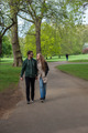 tourists walking in London park - PhotoDune Item for Sale