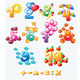 Colorful Numbers for Children - GraphicRiver Item for Sale