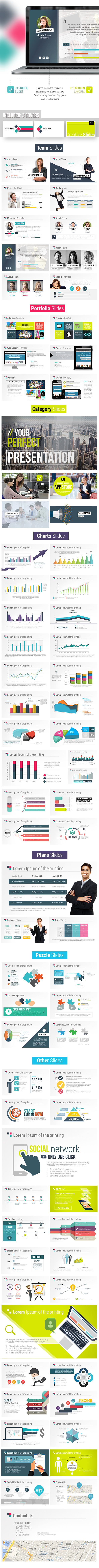 GraphicRiver Fresh Digital Slides Creative Powerpoint Templat 10687039