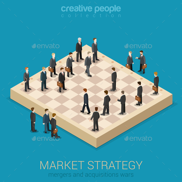 GraphicRiver Corporate Business Market Strategy 10687417