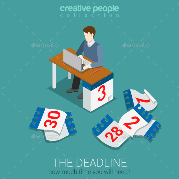 GraphicRiver Deadline Time Management 10687990
