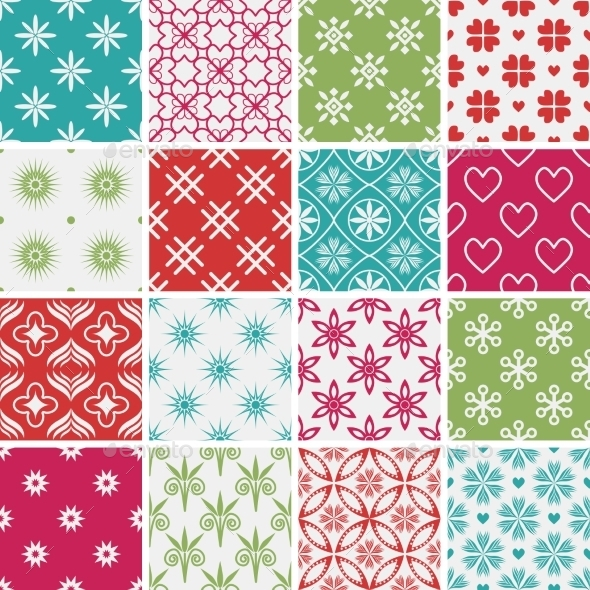 GraphicRiver Seamless Patterns 10688003
