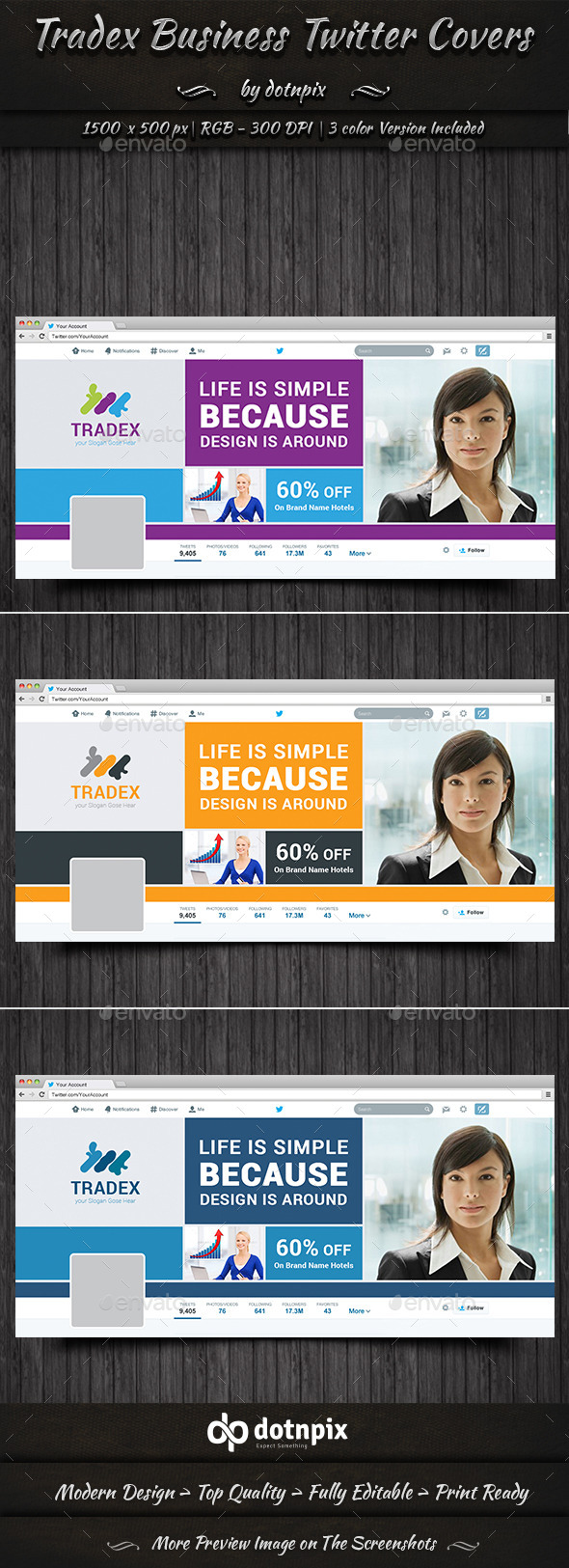 GraphicRiver Tradex Business Twitter Cover 10688323