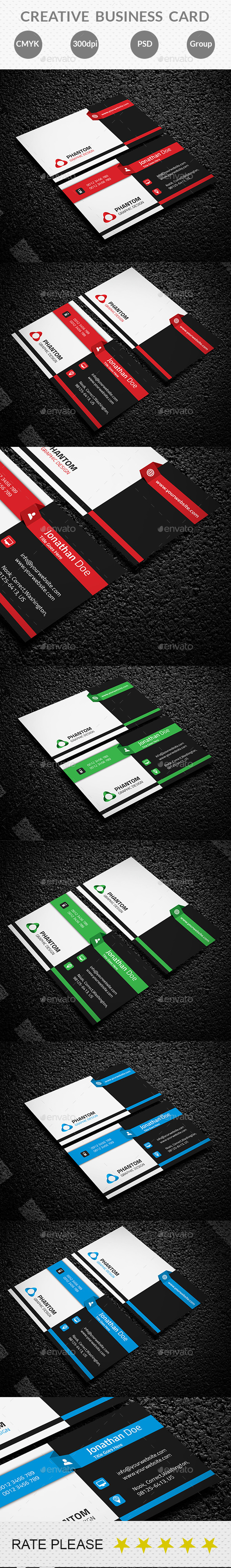 GraphicRiver Creative Business Card 10688358
