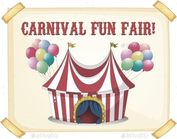 GraphicRiver Circus Retro Poster 10688418