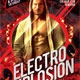 Electro Explosion Party Flyer - GraphicRiver Item for Sale