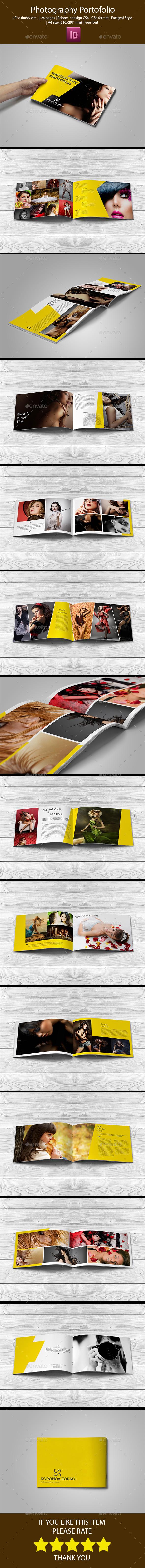 GraphicRiver Modern Photography Portofolio 10688491