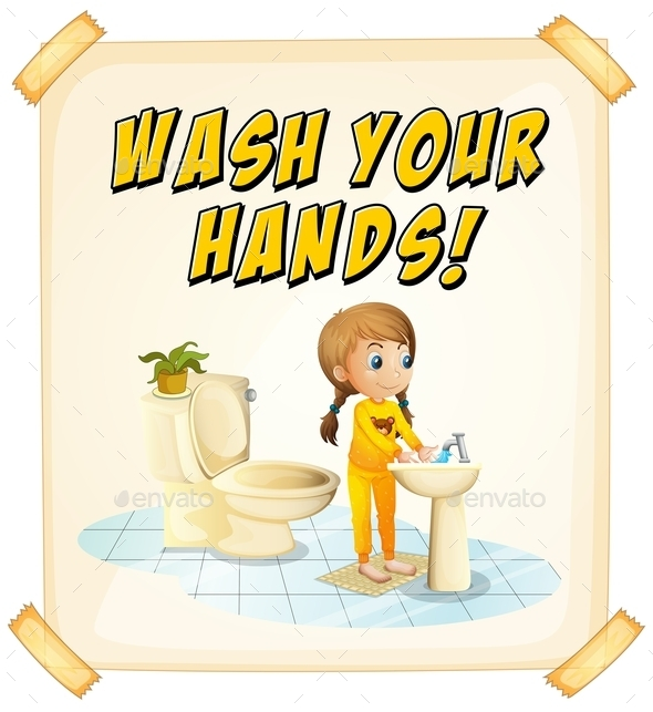 GraphicRiver Wash Hands 10688913