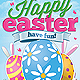 Happy Easter Event Flyer - GraphicRiver Item for Sale