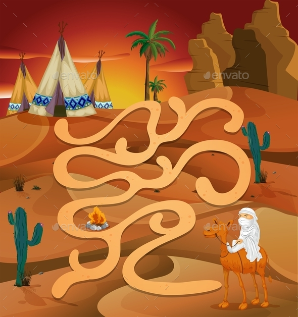 GraphicRiver Maze Game 10688917