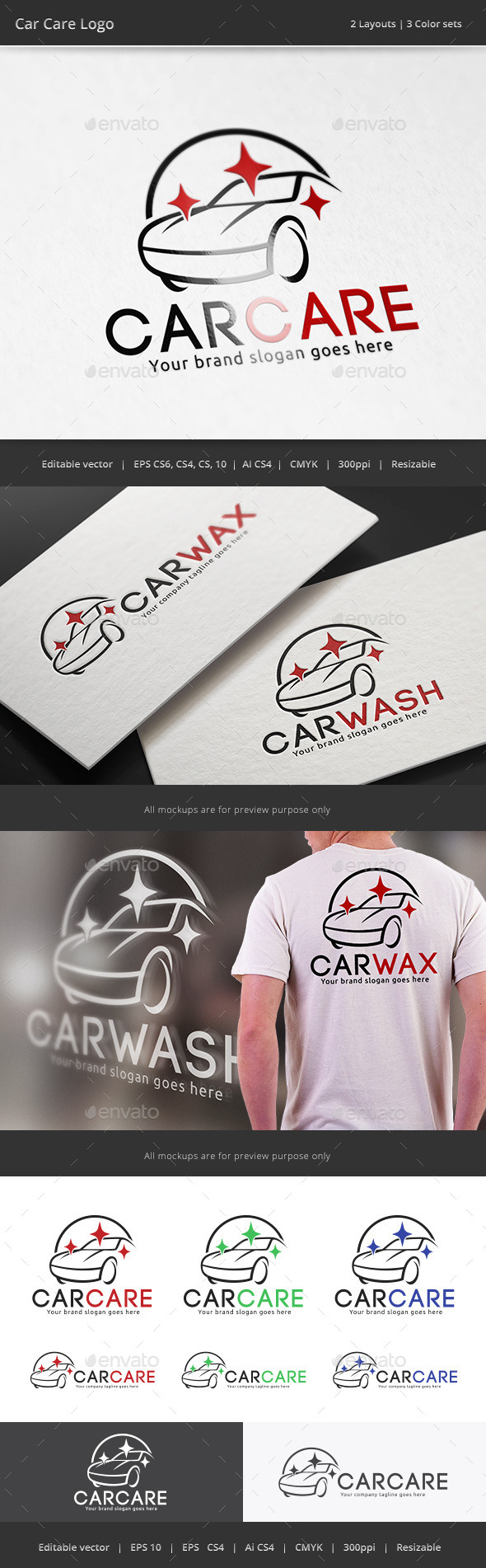 GraphicRiver Car Care Logo 10688926