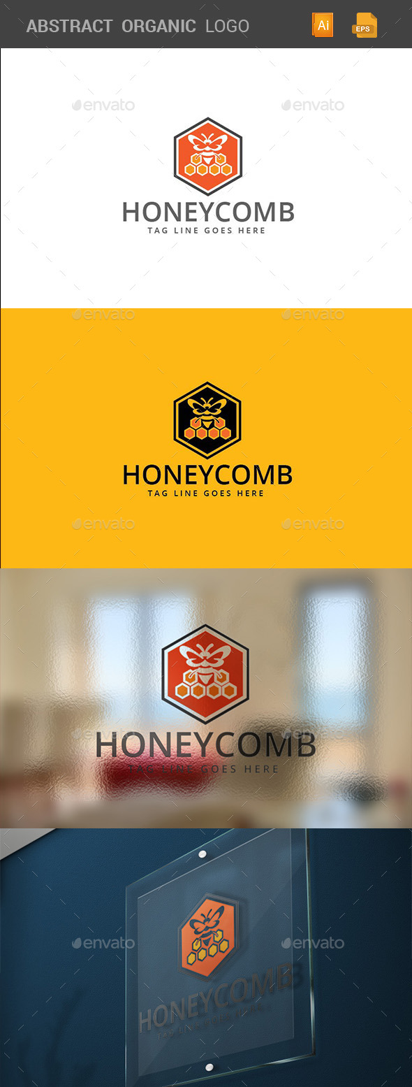 GraphicRiver Honeycomb Logo Template 10689402