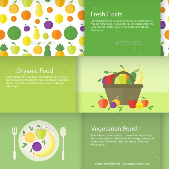 GraphicRiver Fruit Banners 10689498