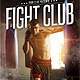 Fight Club Flyer Template - GraphicRiver Item for Sale