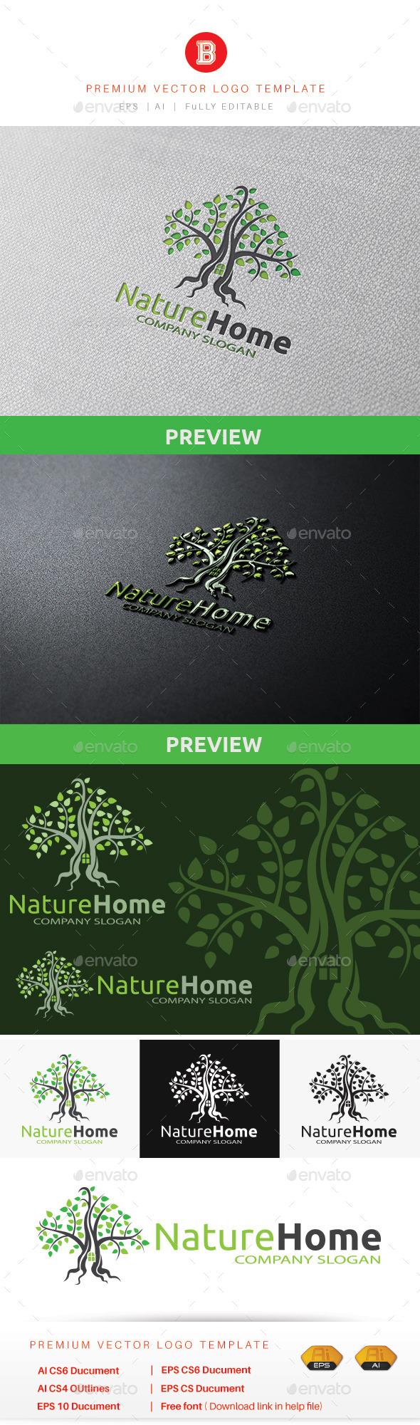 GraphicRiver Nature Home 10689598