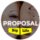Big Life Modern and Unique Proposal Template - GraphicRiver Item for Sale