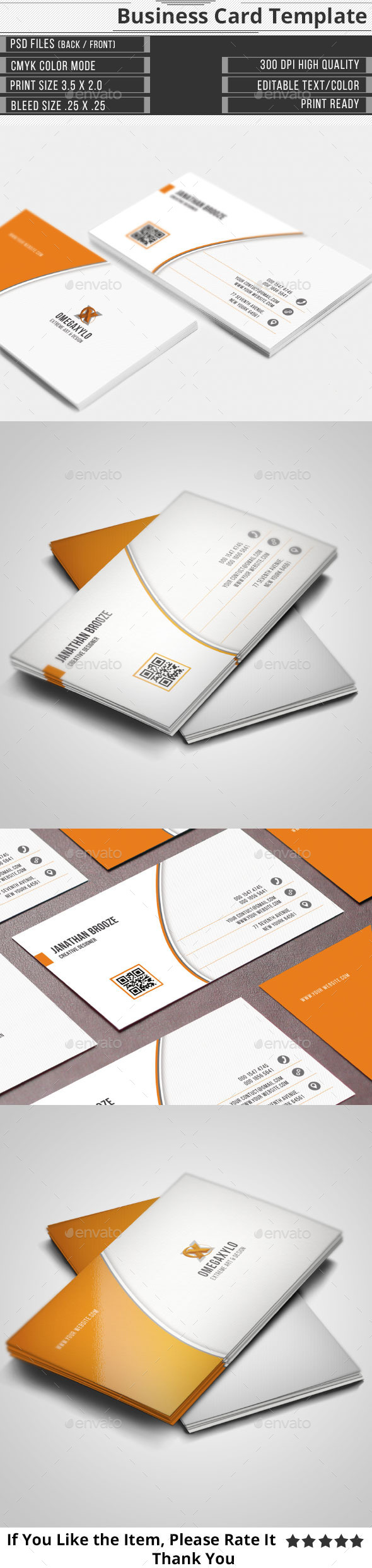 GraphicRiver Corporate Business Card 10690045