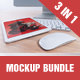 iMockup Bundle 3 in 1 - GraphicRiver Item for Sale