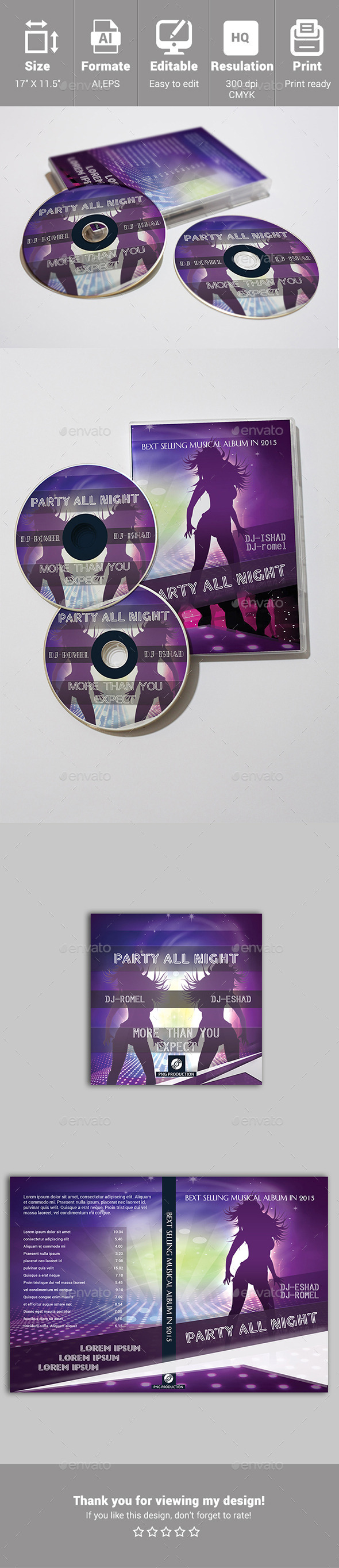 GraphicRiver DVD Cover Template 10690240