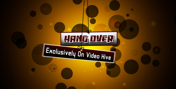 After Effects Project - VideoHive Hang Over 133733