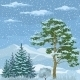 Seamless, Mountain Winter Landscape - GraphicRiver Item for Sale