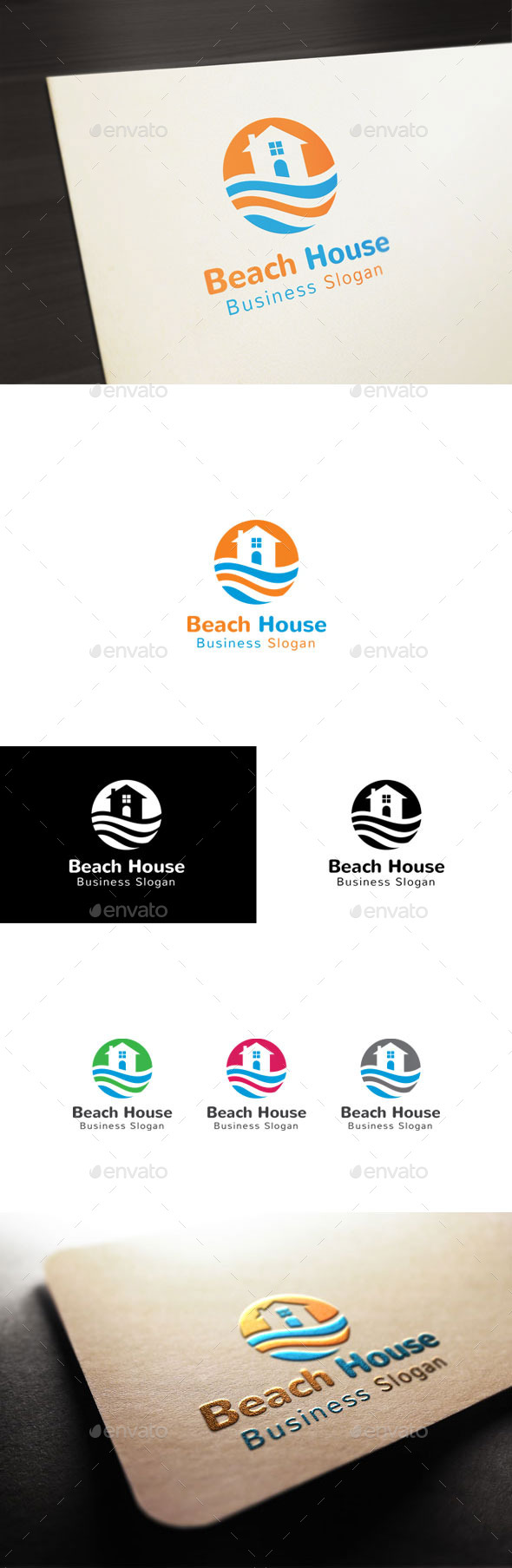 GraphicRiver Beach House 10691197