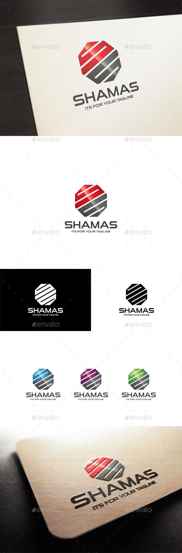 GraphicRiver Shamas S Letter Logo 10691395