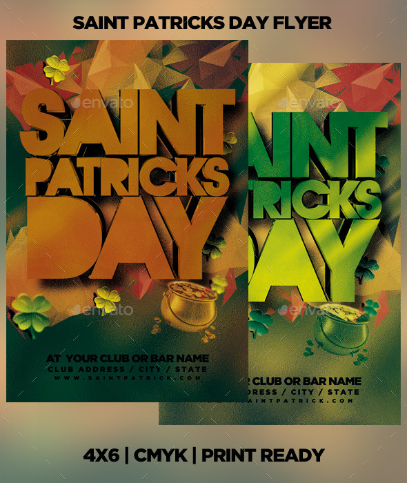 GraphicRiver Saint Patricks Day Flyer 10691490