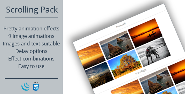 CodeCanyon Scrolling Animation Pack 10691913