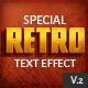 10 Retro Text Effect v.2 - GraphicRiver Item for Sale