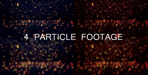 Particle Bonce 4 Footage
