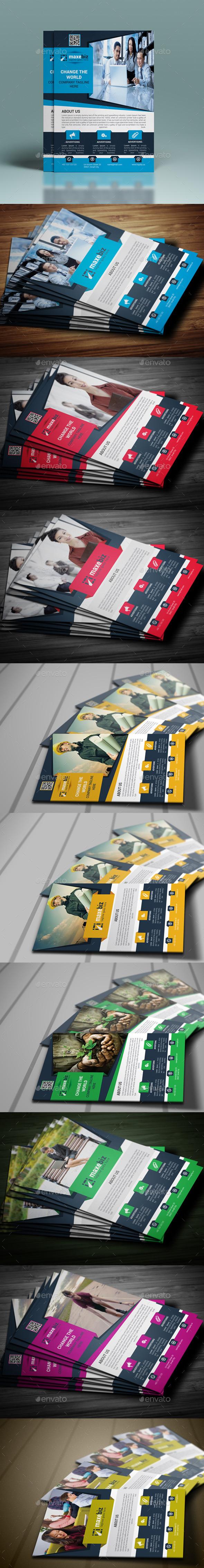 GraphicRiver Business Flyer Bundle 10692287
