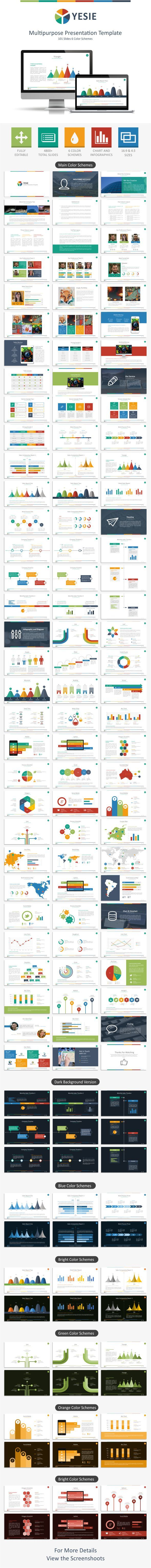 GraphicRiver Yesie Multipurpose Presentation Template 10692361