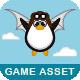 Flying Penguin - Game Asset