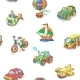 Cartoon Collection of Transportation Items - GraphicRiver Item for Sale