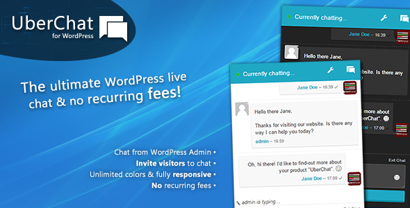 CodeCanyon Uber Chat The Ultimate Live Chat for WordPress 10692679