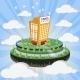Cloud City - GraphicRiver Item for Sale