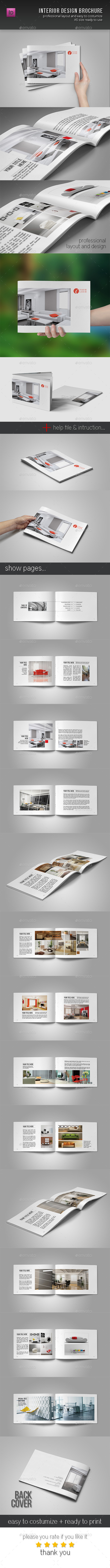 GraphicRiver Interior Design Brochure 10693018