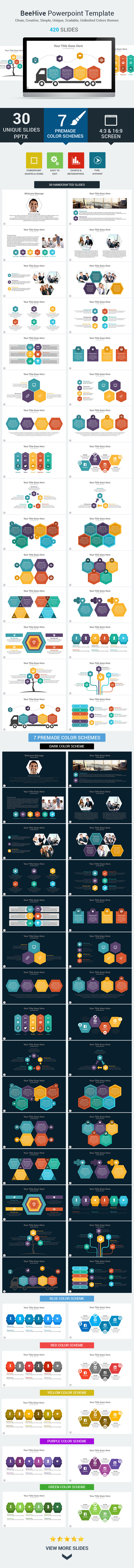 GraphicRiver Beehive PowerPoint Presentation Template 10693516