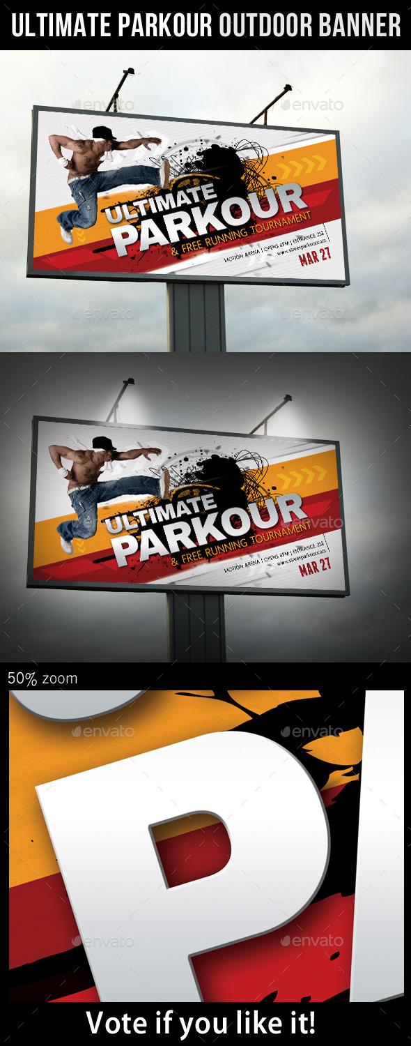GraphicRiver Ultimate Parkour Outdoor Banner 10693777