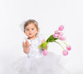 Little girl with flowers - PhotoDune Item for Sale